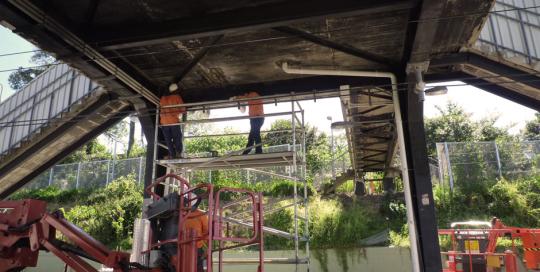 Taringa Rail Station Repairs
